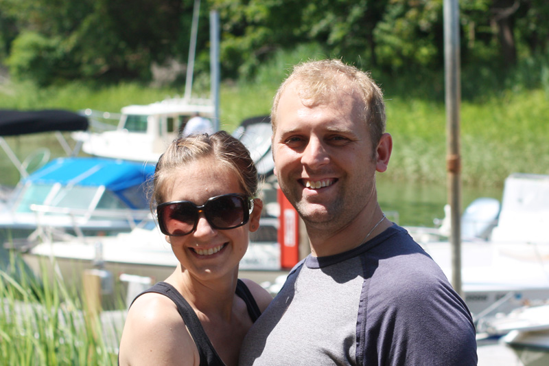 Brian and Denise Raeihle