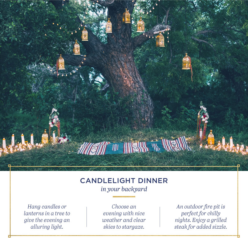 Relationships candle light dinner ideas
